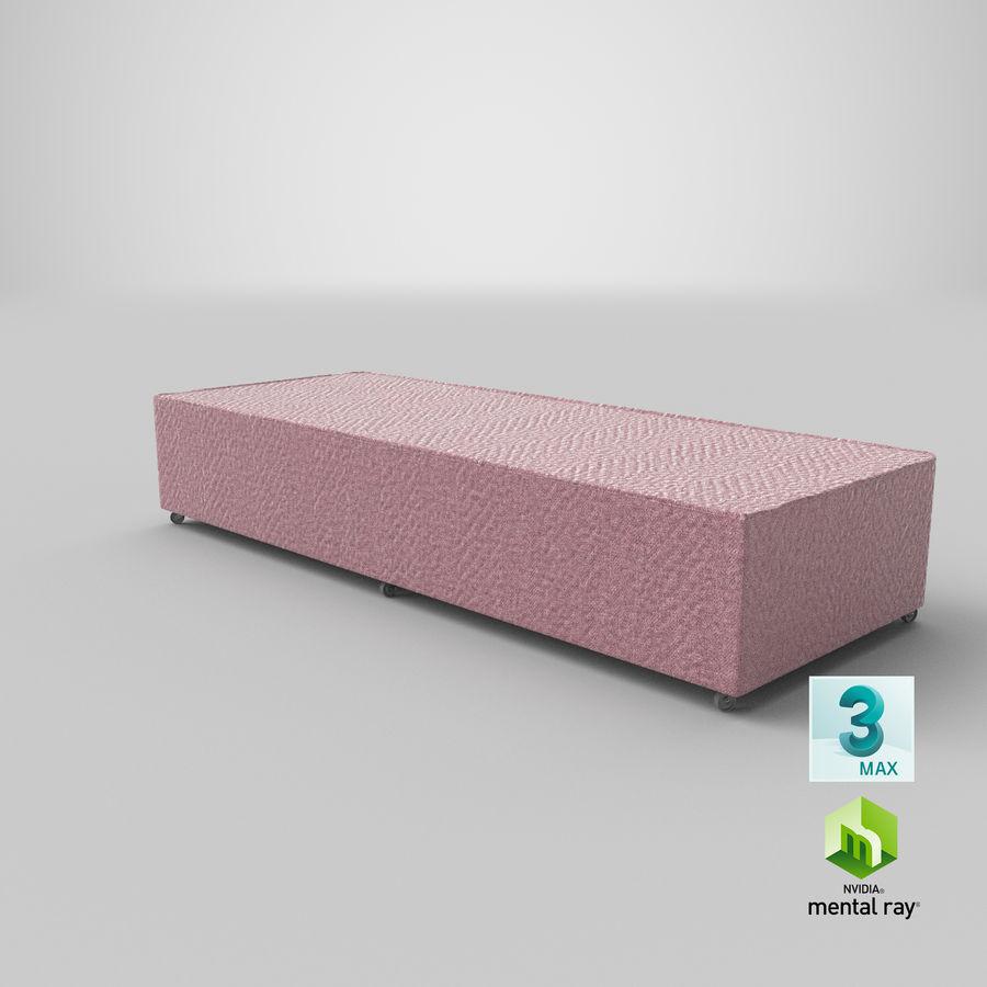 Основание кровати 04 Румяна royalty-free 3d model - Preview no. 23