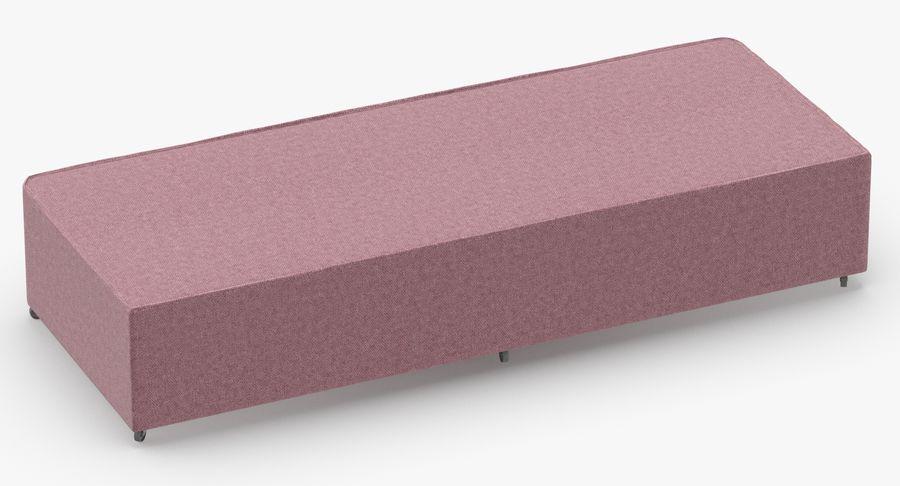 Основание кровати 04 Румяна royalty-free 3d model - Preview no. 5