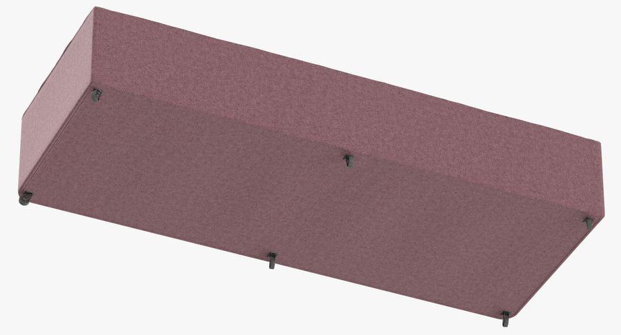 Основание кровати 04 Румяна royalty-free 3d model - Preview no. 9