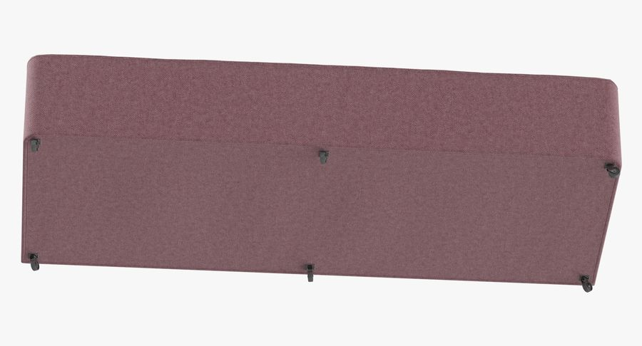 Основание кровати 04 Румяна royalty-free 3d model - Preview no. 8