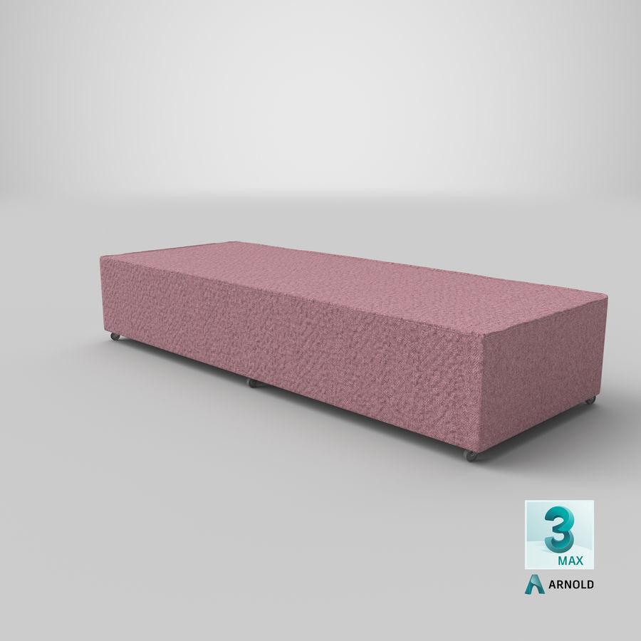Основание кровати 04 Румяна royalty-free 3d model - Preview no. 22