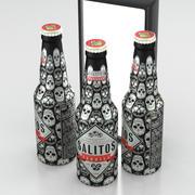 Beer Bottle Salitos Tequila Aluminium 330ml 2019 3d model