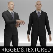 Mężczyzna w garniturze 3d model