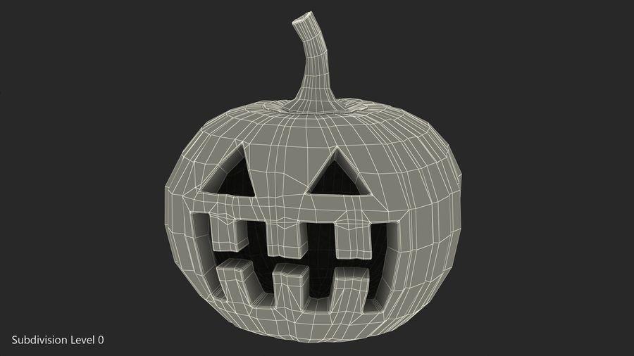 Halloween Pumpkinhead royalty-free 3d model - Preview no. 13
