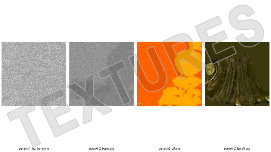 Halloween Pumpkinhead royalty-free 3d model - Preview no. 16