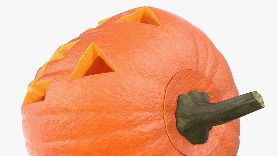 Halloween Pumpkinhead royalty-free 3d model - Preview no. 10