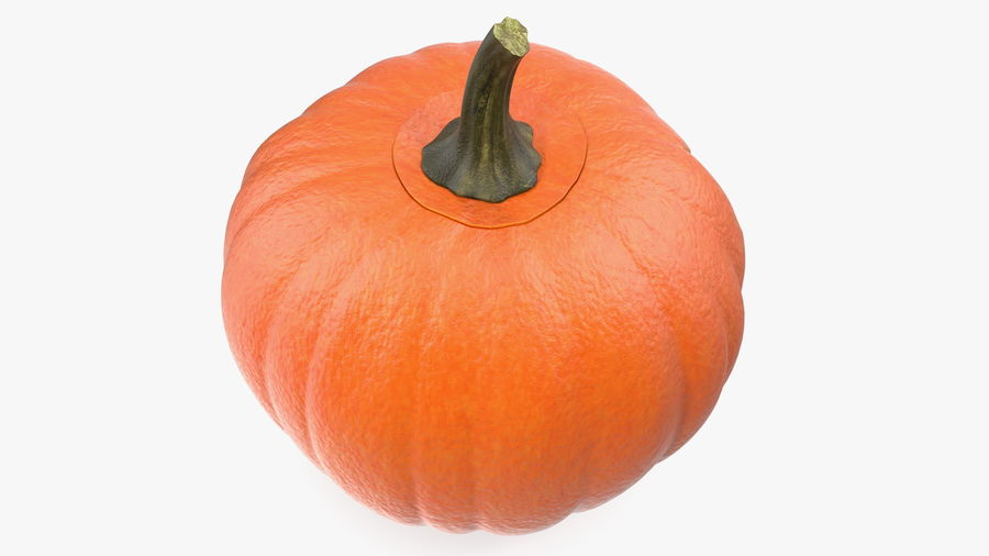 Halloween Pumpkinhead royalty-free 3d model - Preview no. 7
