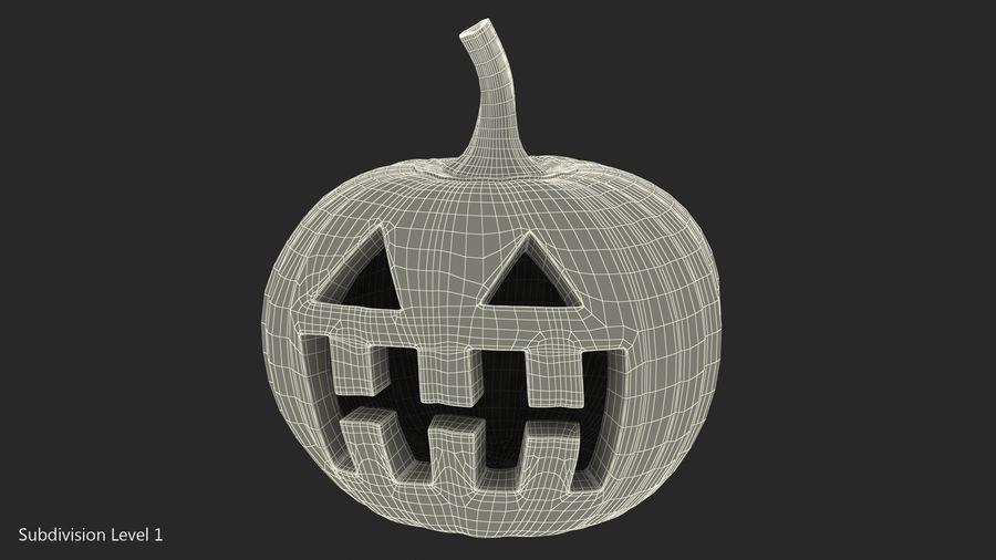 Halloween Pumpkinhead royalty-free 3d model - Preview no. 14