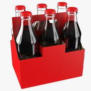 Pacote de garrafa de refrigerante 3d model