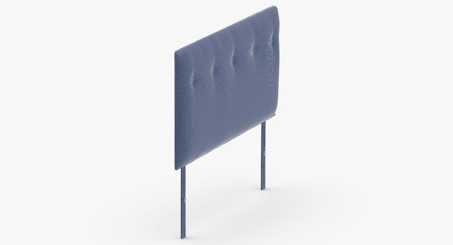 Headboard 08 Charcoal royalty-free 3d model - Preview no. 12