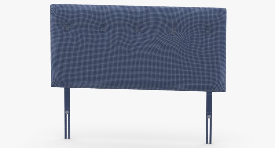 Headboard 08 Oatmeal royalty-free 3d model - Preview no. 13