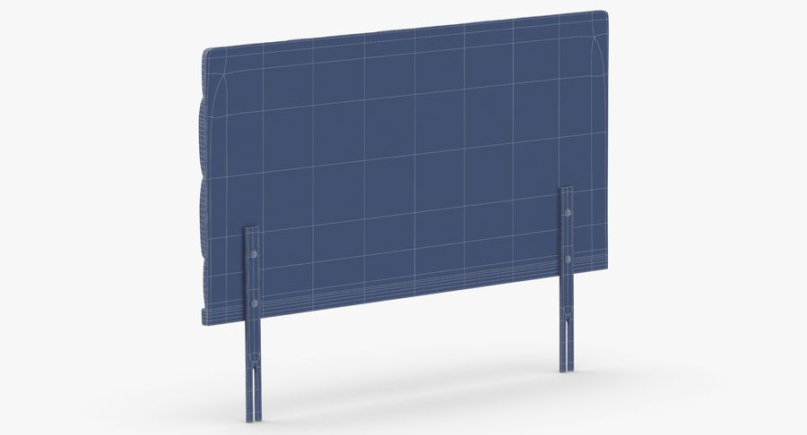 Headboard 12 Mint royalty-free 3d model - Preview no. 14