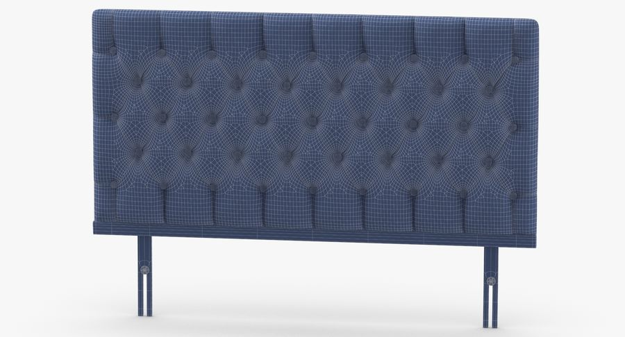 Headboard 12 Mint royalty-free 3d model - Preview no. 13
