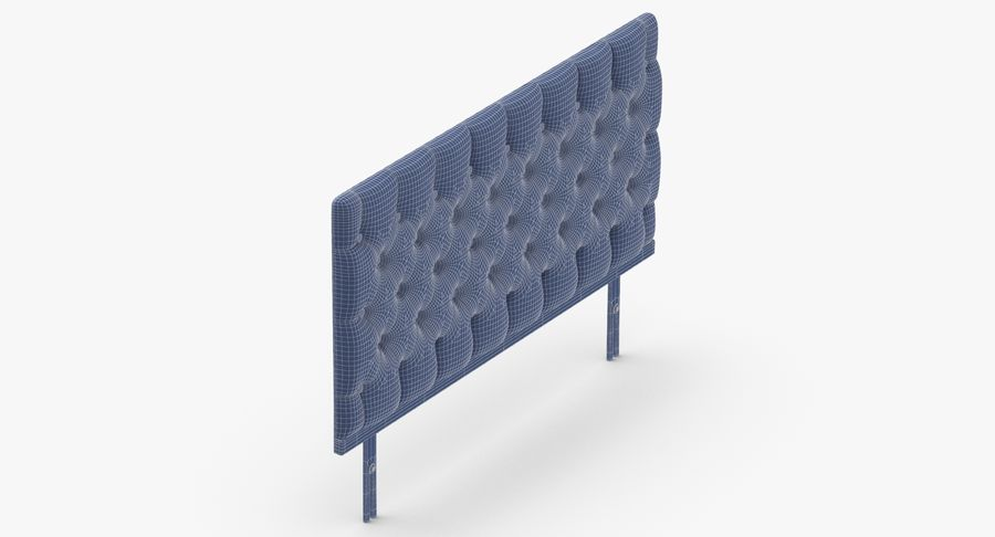 Headboard 12 Mint royalty-free 3d model - Preview no. 15