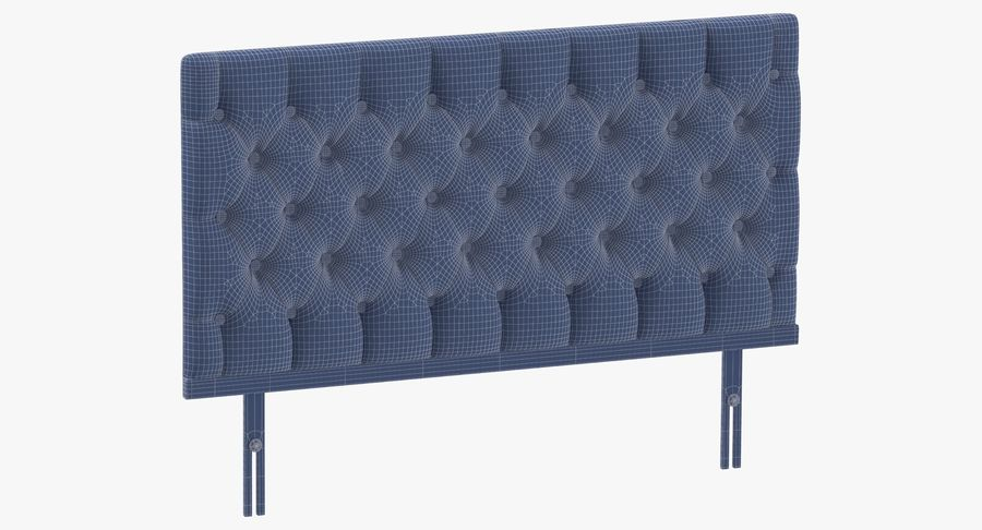 Headboard 12 Mint royalty-free 3d model - Preview no. 10