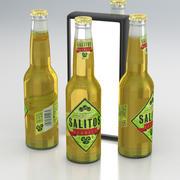 Beer Bottle Salitos Tequila 330ml 2019 3d model