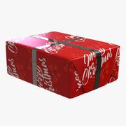 クリスマスギフトボックスV1 3d model
