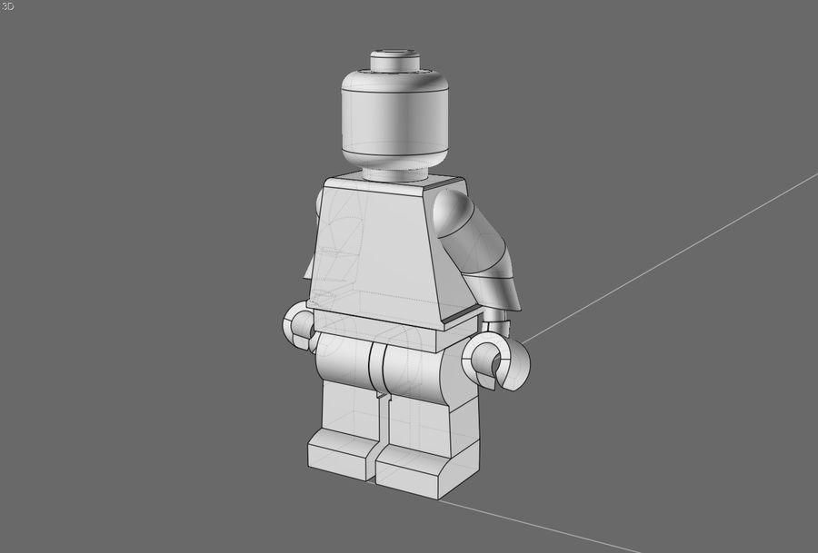 Lego Mafya Kavramı royalty-free 3d model - Preview no. 6