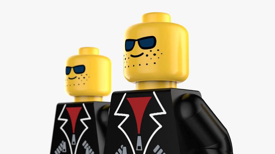 Lego Mafya Kavramı royalty-free 3d model - Preview no. 4