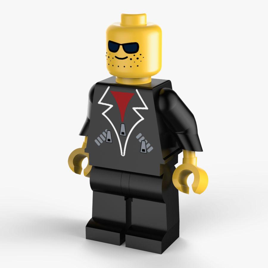 Lego Mafya Kavramı royalty-free 3d model - Preview no. 1