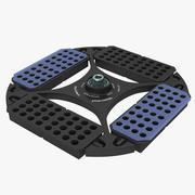 Eppendorf Centrifuge Rotor PCR 3d model