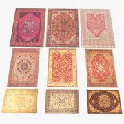 9 Persian Carpets 3d model