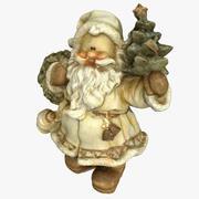Estatua de santa claus modelo 3d
