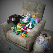 垃圾和玩具 3d model