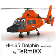HH-65 Dolphin 3d model