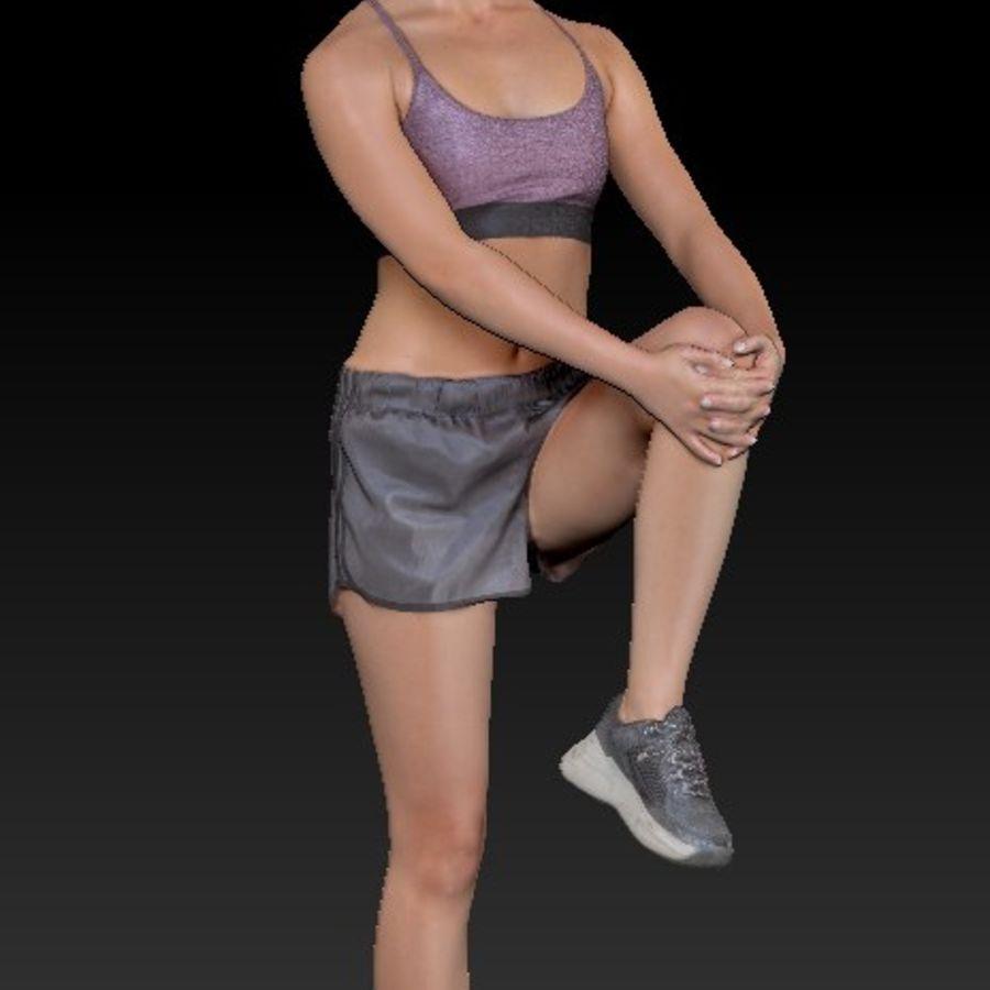 Сексуальная спортивная женщина 24 royalty-free 3d model - Preview no. 10