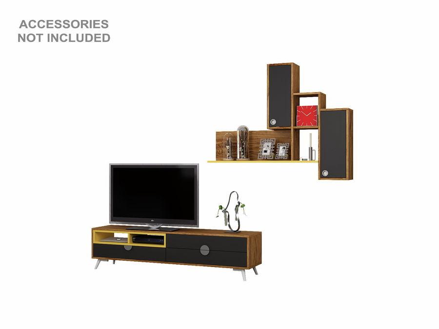 Armoires de télévision royalty-free 3d model - Preview no. 10