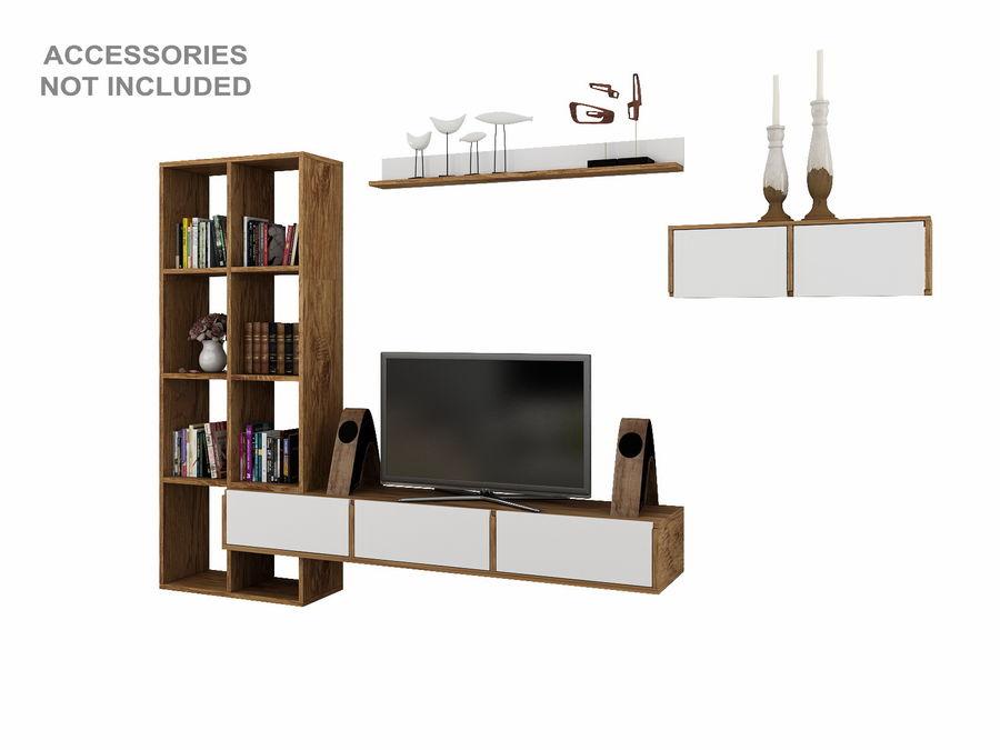 Armoires de télévision royalty-free 3d model - Preview no. 5