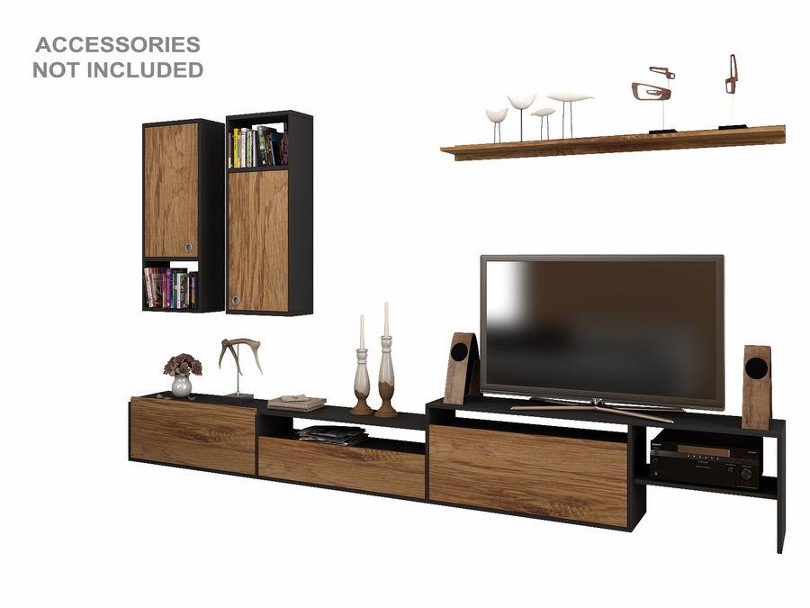 Armoires de télévision royalty-free 3d model - Preview no. 2