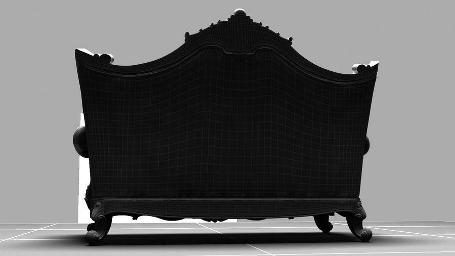 肘掛け椅子 royalty-free 3d model - Preview no. 5