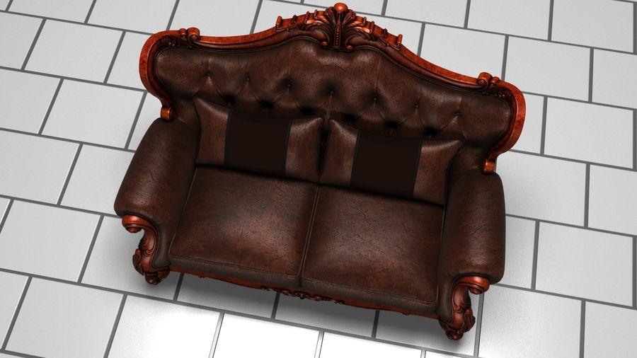肘掛け椅子 royalty-free 3d model - Preview no. 3