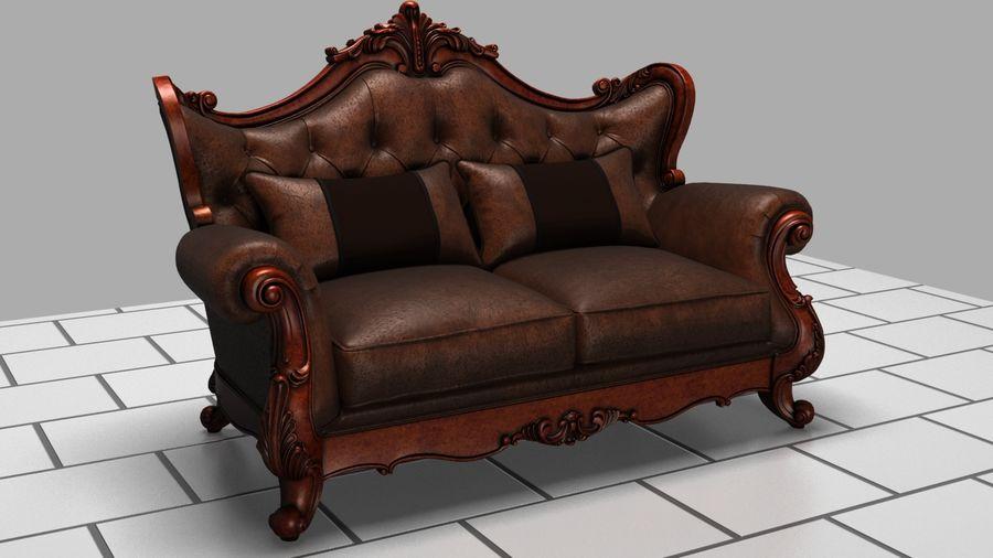 肘掛け椅子 royalty-free 3d model - Preview no. 1