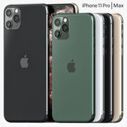 iPhone 11 Pro & Pro Max 3d model