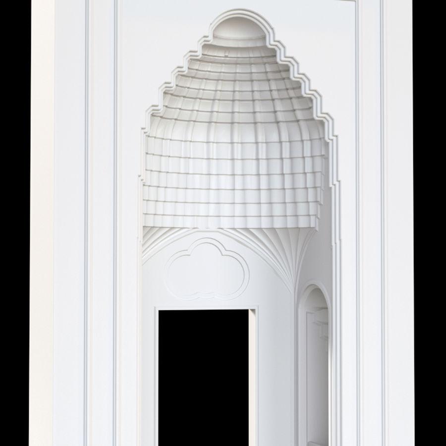 muqarnas ver 4 royalty-free modelo 3d - Preview no. 1