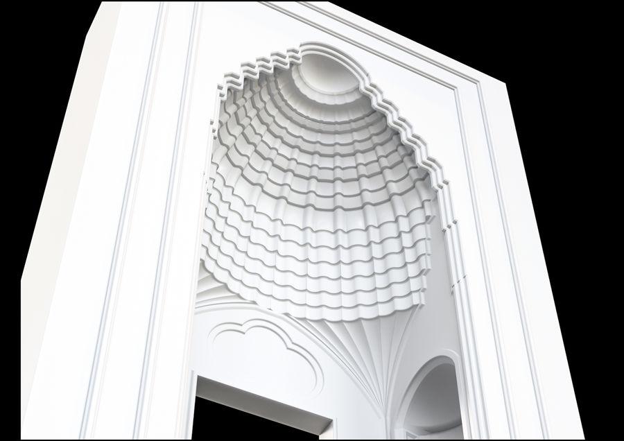 muqarnas ver 4 royalty-free modelo 3d - Preview no. 3