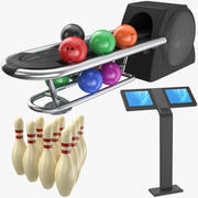 Bowling Collection 3d model