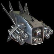 Scifi-Drohne 2.0 3d model