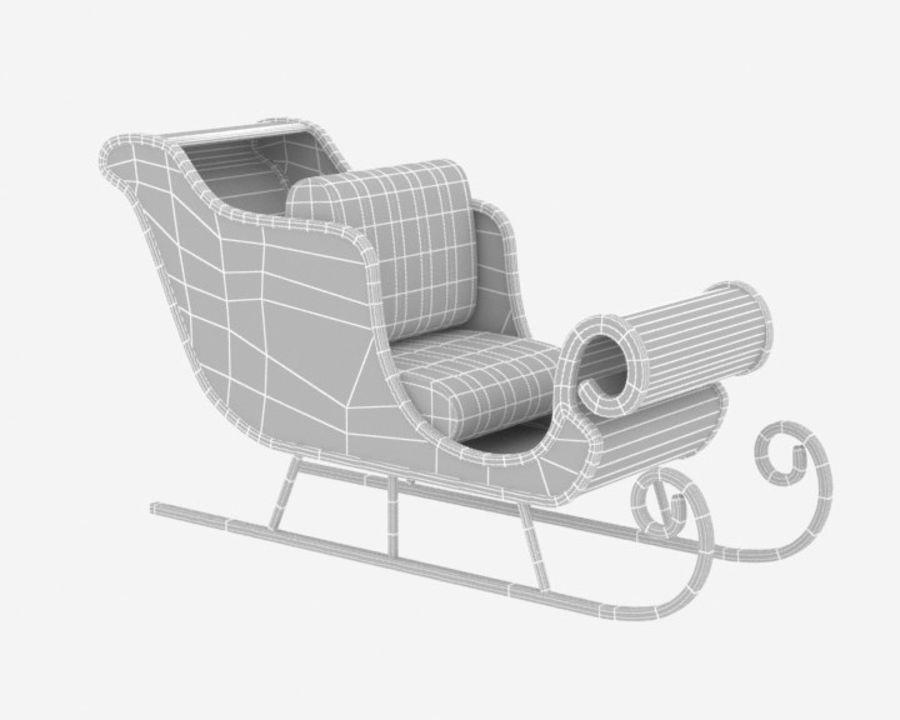 圣雪橇 royalty-free 3d model - Preview no. 5