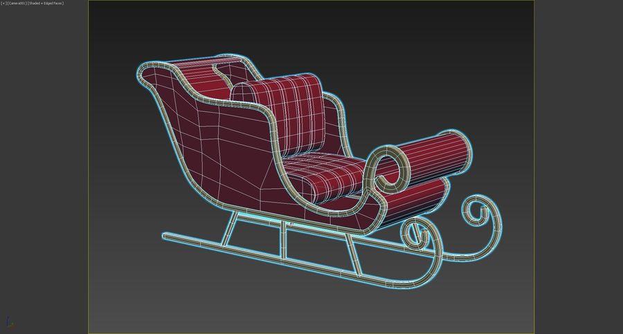 圣雪橇 royalty-free 3d model - Preview no. 7
