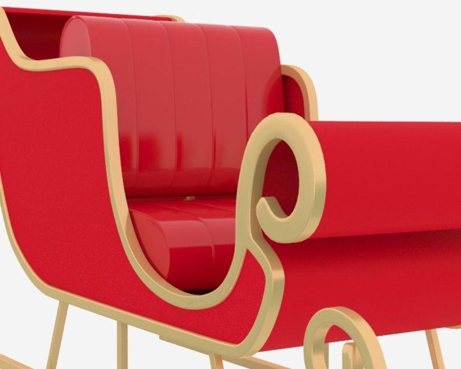 圣雪橇 royalty-free 3d model - Preview no. 4