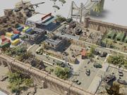 zona di battaglia 3d model