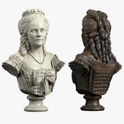 Bust Baroque 3d model