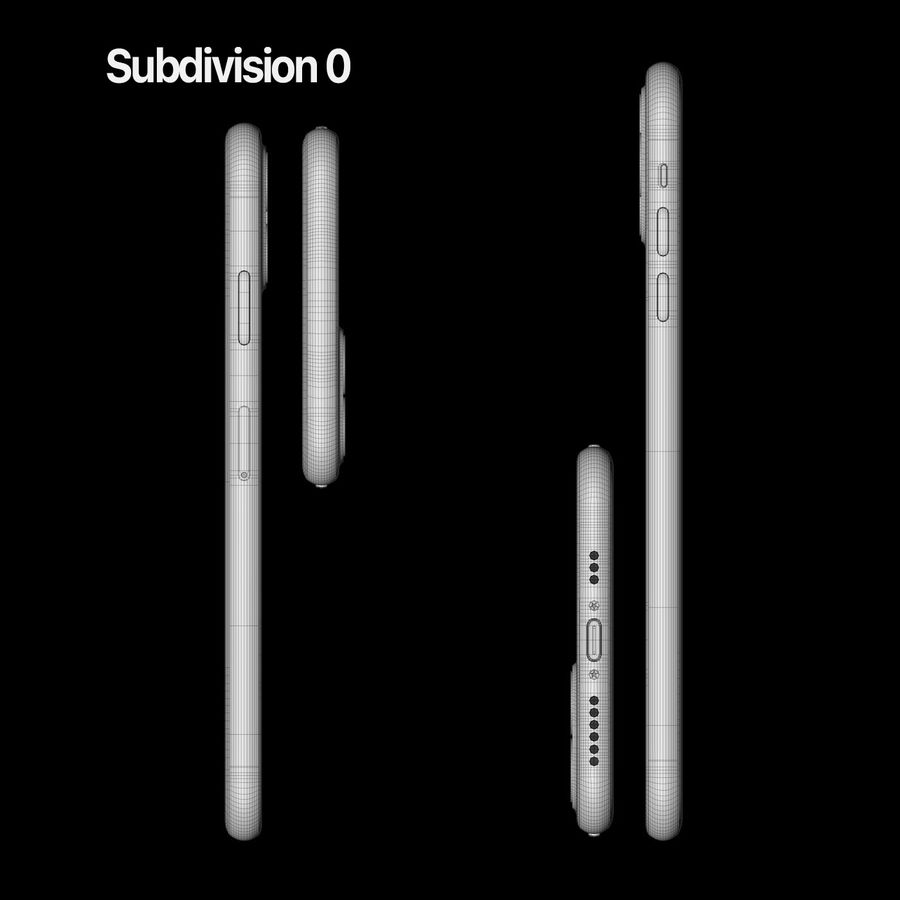 Iphone 11, Iphone 11 Pro, Iphone 11 Pro Max royalty-free 3d model - Preview no. 17