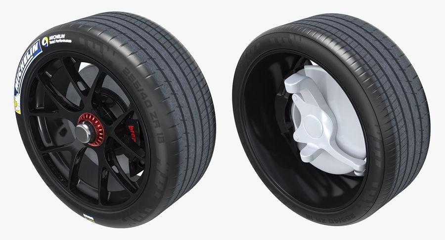 丰田赛车轮 royalty-free 3d model - Preview no. 3