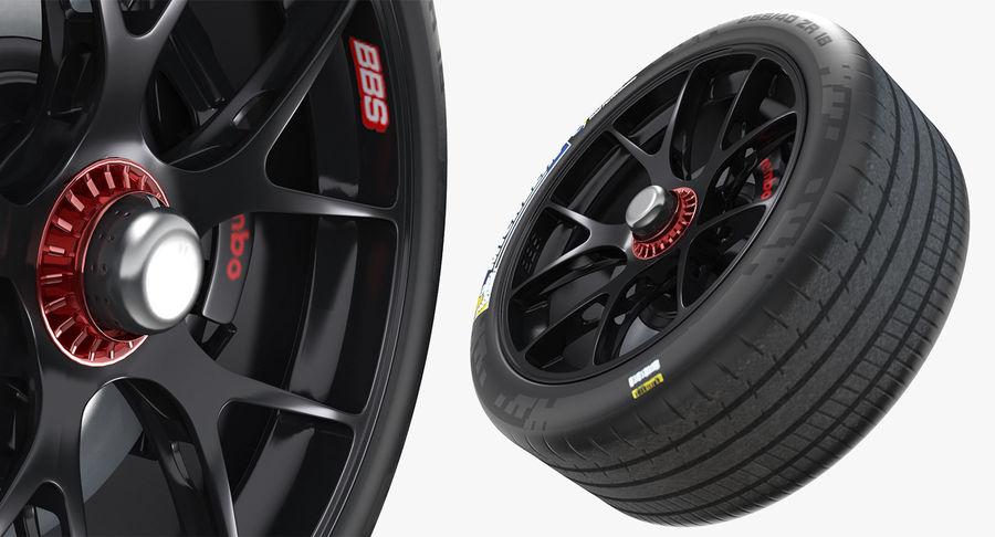 トヨタレーシングホイール royalty-free 3d model - Preview no. 5