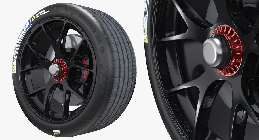 丰田赛车轮 royalty-free 3d model - Preview no. 2